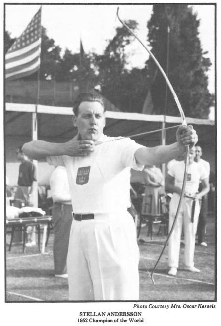 Stellen Anderson 1952 world champion
